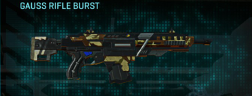 India scrub assault rifle gauss rifle burst
