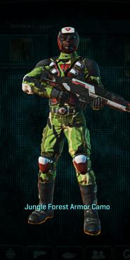 Tr jungle forest combat medic