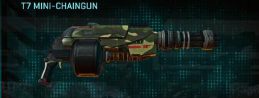 Temperate forest heavy gun t7 mini-chaingun