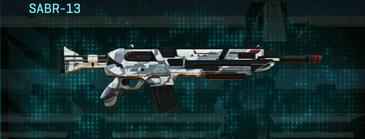 Esamir ice assault rifle sabr-13