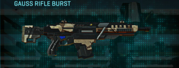 Indar scrub assault rifle gauss rifle burst