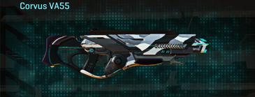 Esamir ice assault rifle corvus va55