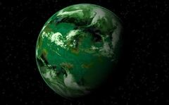 Chlorine planet