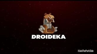 Angry Birds Star Wars 2 character reveals-in this film , Droideka haven't got any legs. O o