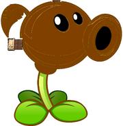 Chocolate Peashooter HD