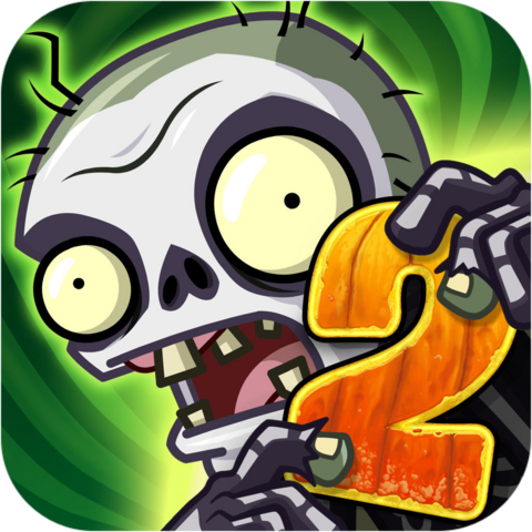 File:Plants Vs. Zombies™ 2 It's About Time Icon (Versions 4.1.1).png