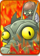 Zombot Dark Dragon in Volcano Level Icon