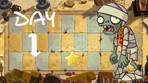 PvZ All Stars - Ancient Egypt Day 1