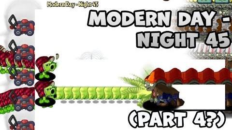 PvZ2 - Unfinished Modern Day - Night 45 (Part 4?) - Beta 6