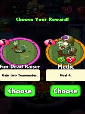 File:Choice between Fun-Dead Raiser and Medic.jpeg
