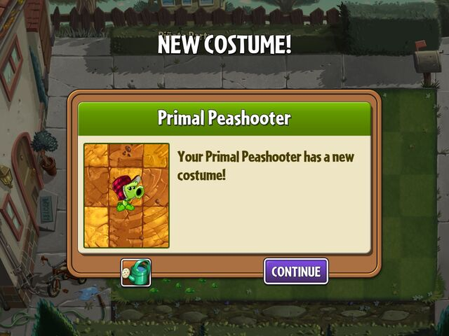 File:Getting Primal Peashooter's First Costume.jpg