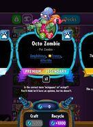 Octo Zombie's statistics