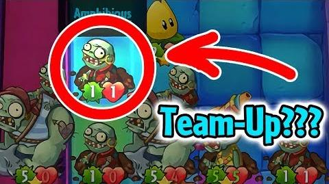 Plants vs Zombies Heroes - Zombie Team-Up Glitch with Fails in Daily Challenge-2