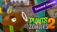 PvZ2 CoconutCannon WallpaperbyKh07