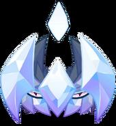 Diamond stab close up