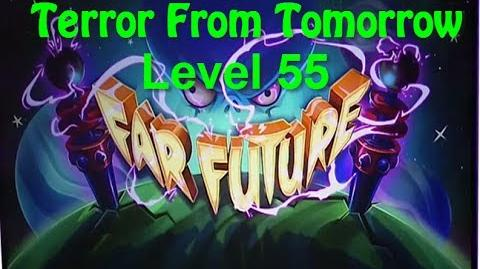 Terror From Tomorrow Level 55 Plants vs Zombies 2 Endless