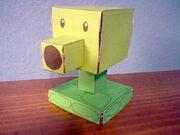 Papercraft Peashooter