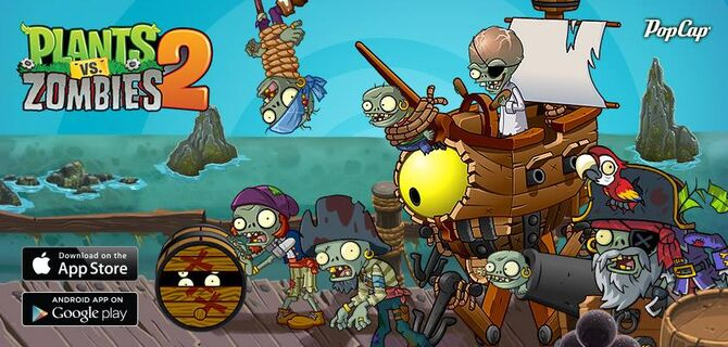 plants vs zombies 2 its about time wallpaper