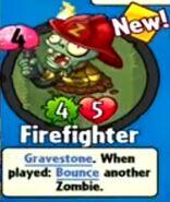 Receiving Firefighter