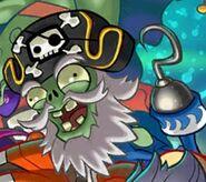 Captain Deadbeard on title screen
