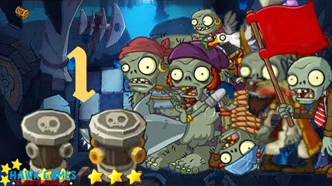 PvZ Online - Adventure Mode - Treasure Cave 1