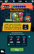 Squirrel Herder Featured on Puzzle Party