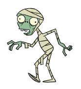 Mummy zombie concept art