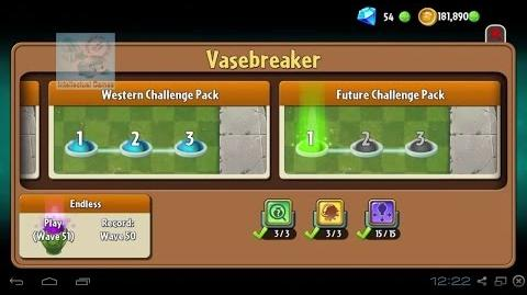 Plants vs Zombies 2 - VaseBreaker Future Challenge Pack Plants vs Zombies 2 vasebreaker update-1496514304