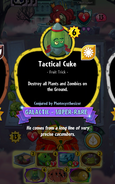 Tactical Cuke Conjured by Photosynthesizer