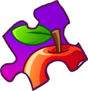 PUZZLE PIECE APPLE