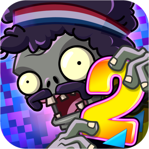 File:Plants Vs. Zombies™ 2 It's About Time Icon (Versions 4.0.1).png