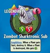 Receiving Zombot Sharktronic Sub