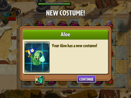 Getting Aloe Second Costume