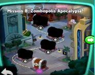 Zombopolis Apocalypse! map