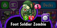 Foot Soldier Zombie/Gallery