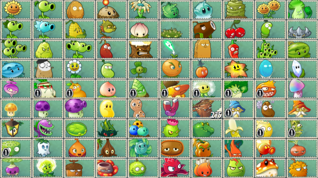 File:All PvZ2 and PvZ2Chinese Plants.png