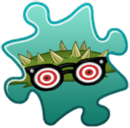 Spikeweed Costume Puzzle Piece