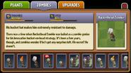 Buckethead Zombie Almanac Entry