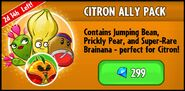 Citron Ally Pack Promotion