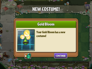 Getting Gold Bloom's First Costume