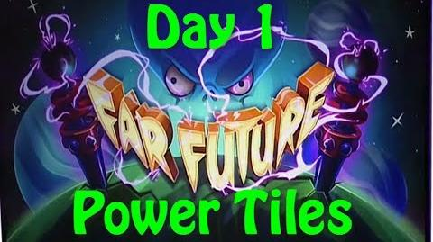 Far Future Day 1 - Power Tiles - Plants vs Zombies 2 new update