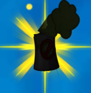 Weed spray silhouette