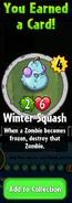 Earning Winter Squash