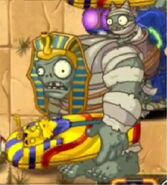 Gargantuar mummy in the Wild West