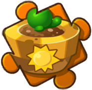 Sun Up Plant Pot Puzzle Piece Level 4