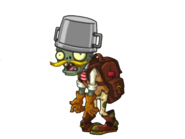 Adventurer Buckethead Zombie