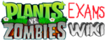 File:Plants Vs Zombies Examination wiki wordmark.png