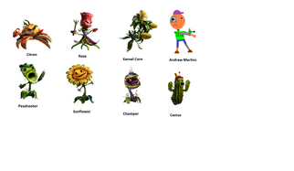 A Fan Made of Plants Vs Zombies Garden Warfare 2