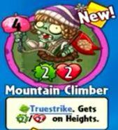 Receiving Mountain Climber
