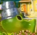 Silver Patterned Pot Hat